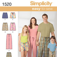 Simplicity 1520 Pattern