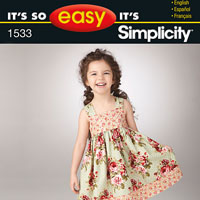 Simplicity 1533 Pattern