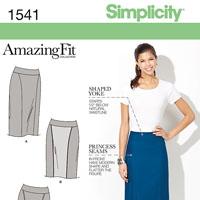 Simplicity 1541 Pattern ( Size 8-10-12-14-16 )