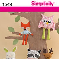 Simplicity 1549 Pattern ( Size ONE )