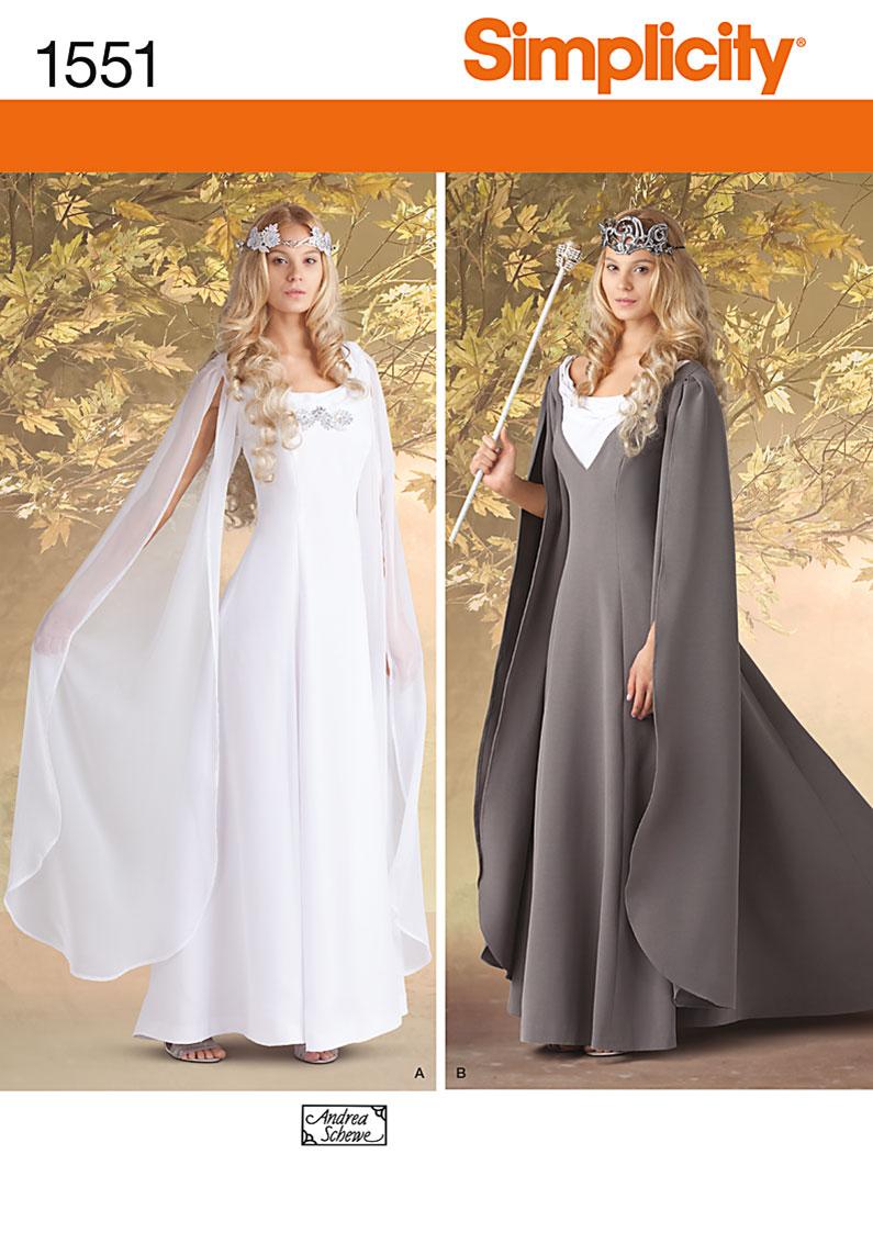 Simplicity Misses' Costumes 1551