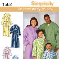 Simplicity 1562 Pattern ( Size XS )