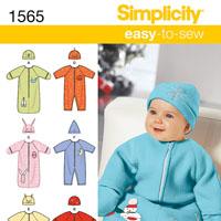 Simplicity 1565 Pattern ( Size XXS-XS-S )