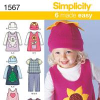 Simplicity 1567 Pattern