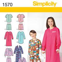 Simplicity 1570 Pattern
