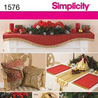 Simplicity 1576 Pattern ( Size ONE )