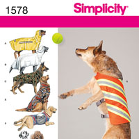 Simplicity 1578 Pattern ( Size ONE )