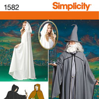 Simplicity 1582 Pattern ( Size XS-S-M-L-XL )