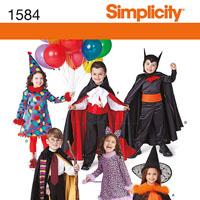 Simplicity 1584 Pattern ( Size 3-4-5-6-7-8 )