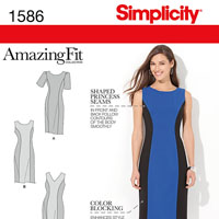 Simplicity 1586 Pattern ( Size 10-12-14-16-18 )