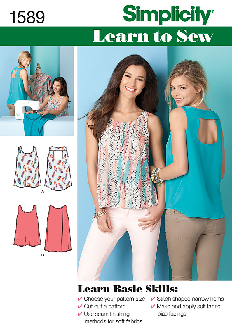 Simplicity Misses Tops 1589