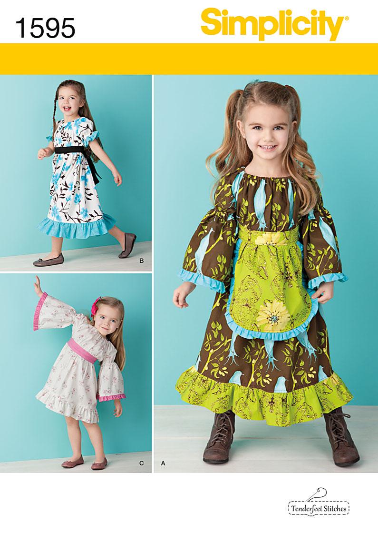 Simplicity Child's Dress 1595