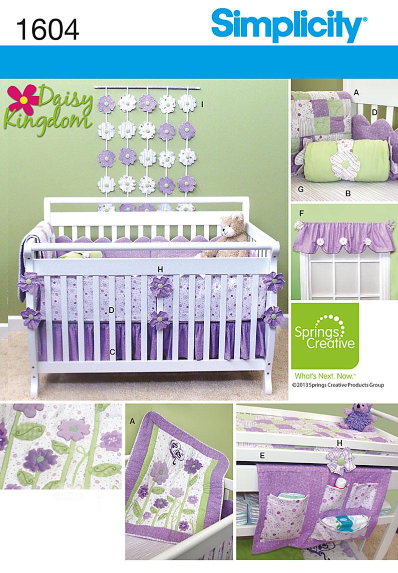 Baby Nursery Quilt Nursery Organizer Boy Girl Sewing