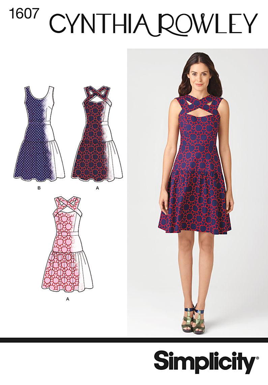 Simplicity Misses Dress 1607