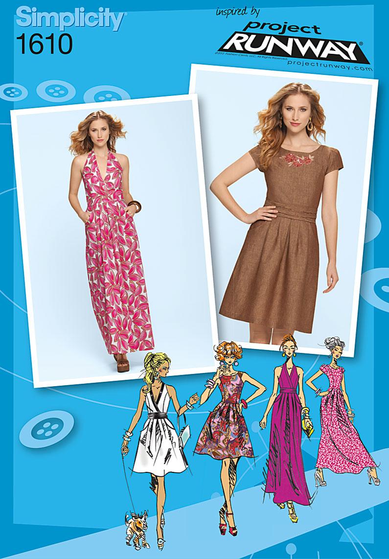Simplicity Misses Dress 1610