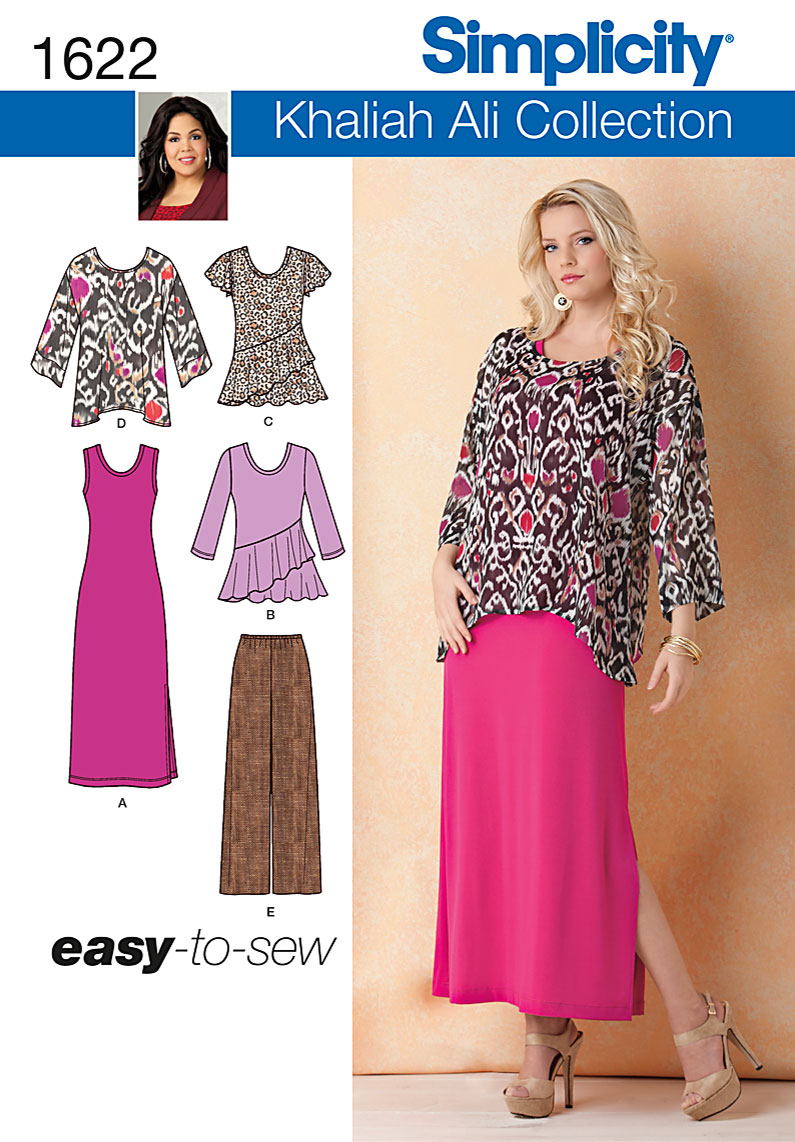 Simplicity Misses' & Plus Size Separates 1622