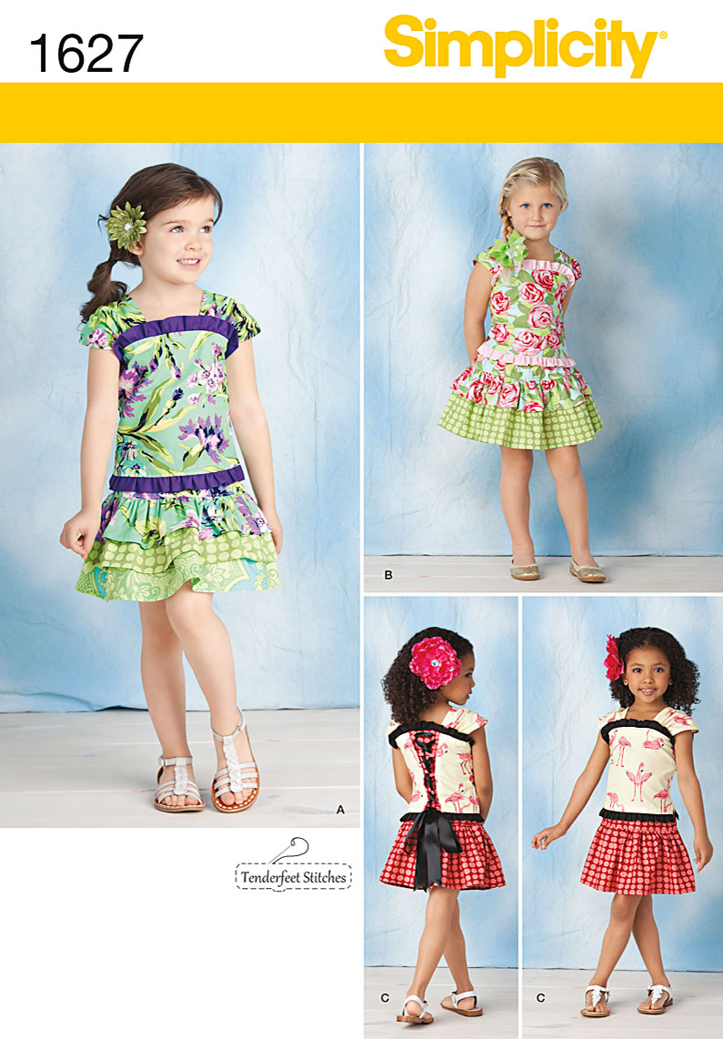 Simplicity Child's Top & Skirt 1627