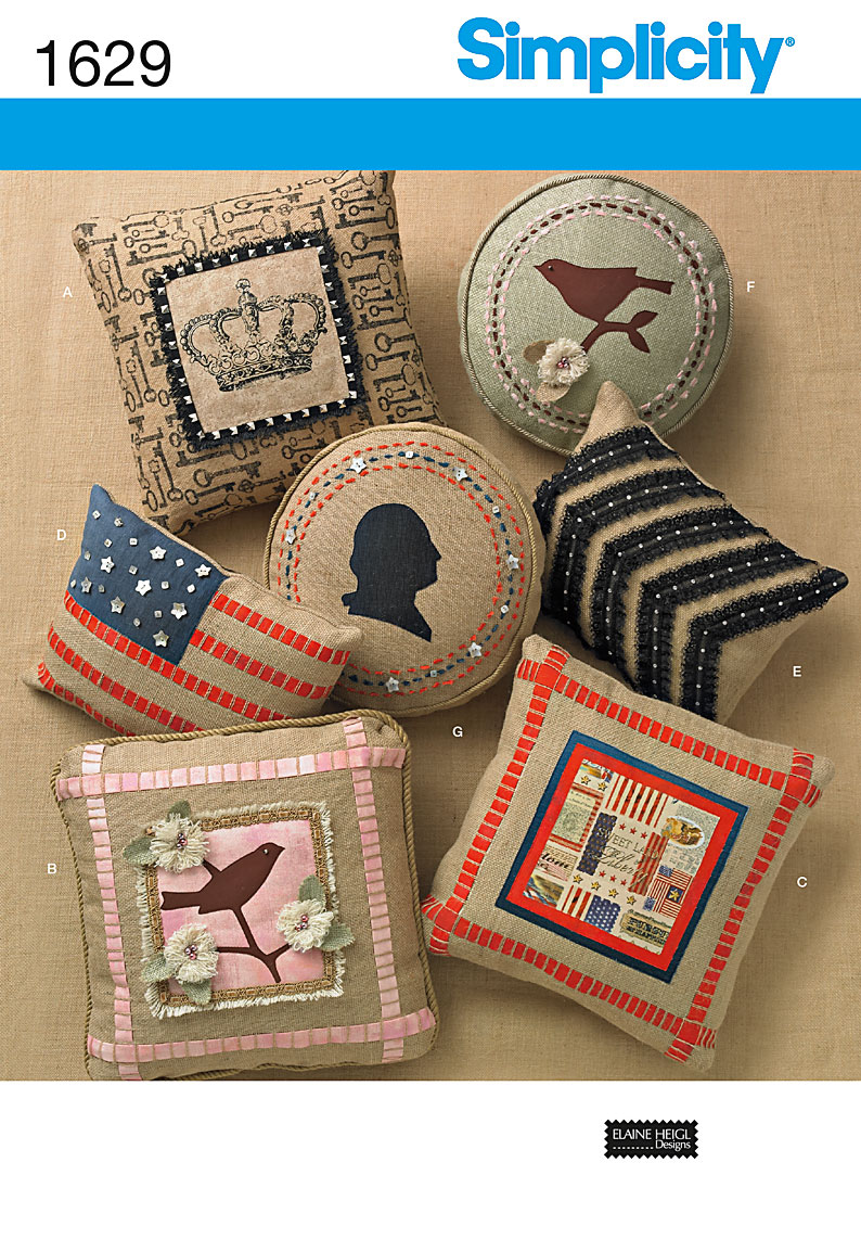 Simplicity Pillows in three sizes 1629