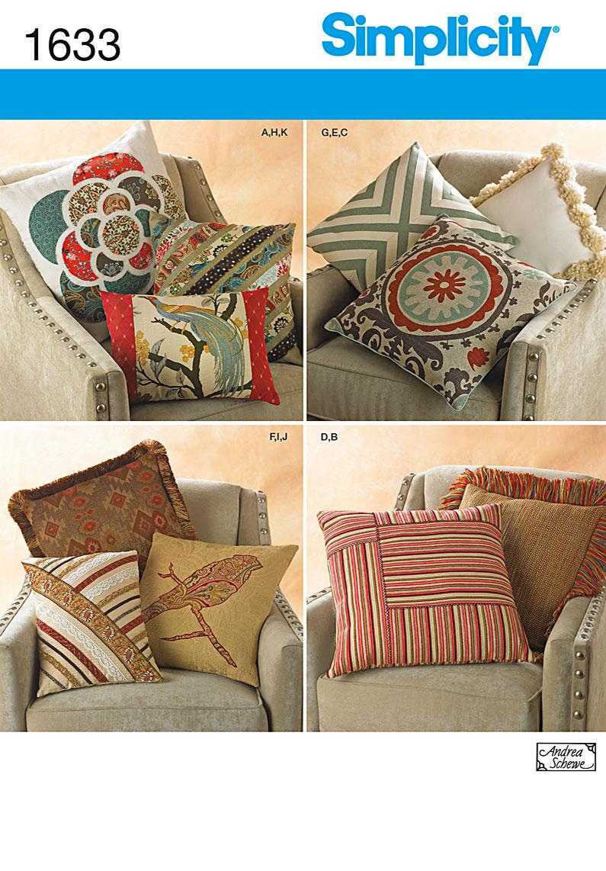 Simplicity Pillows 1633