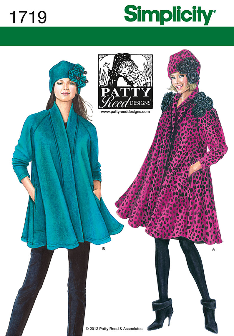 Simplicity Misses Coat and Jacket 1719