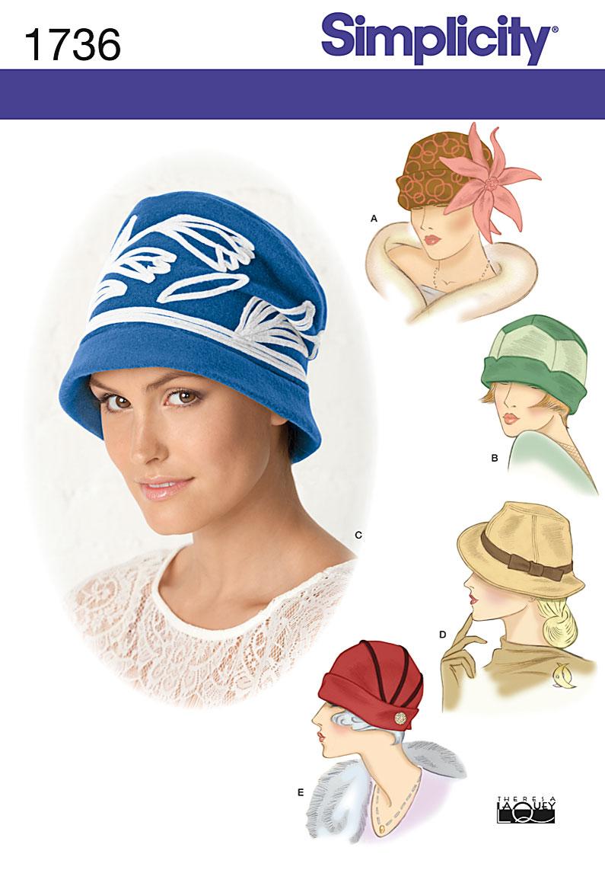 Simplicity Misses Hats 1736