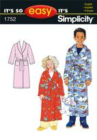 Simplicity 1752 Pattern ( Size 3-4-5-6-7-8-10-12-14 )