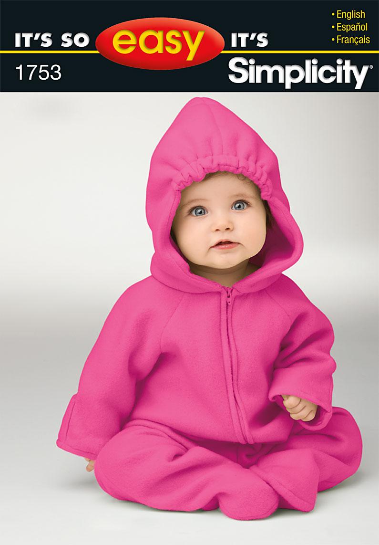 Simplicity Babies' Costume 1753