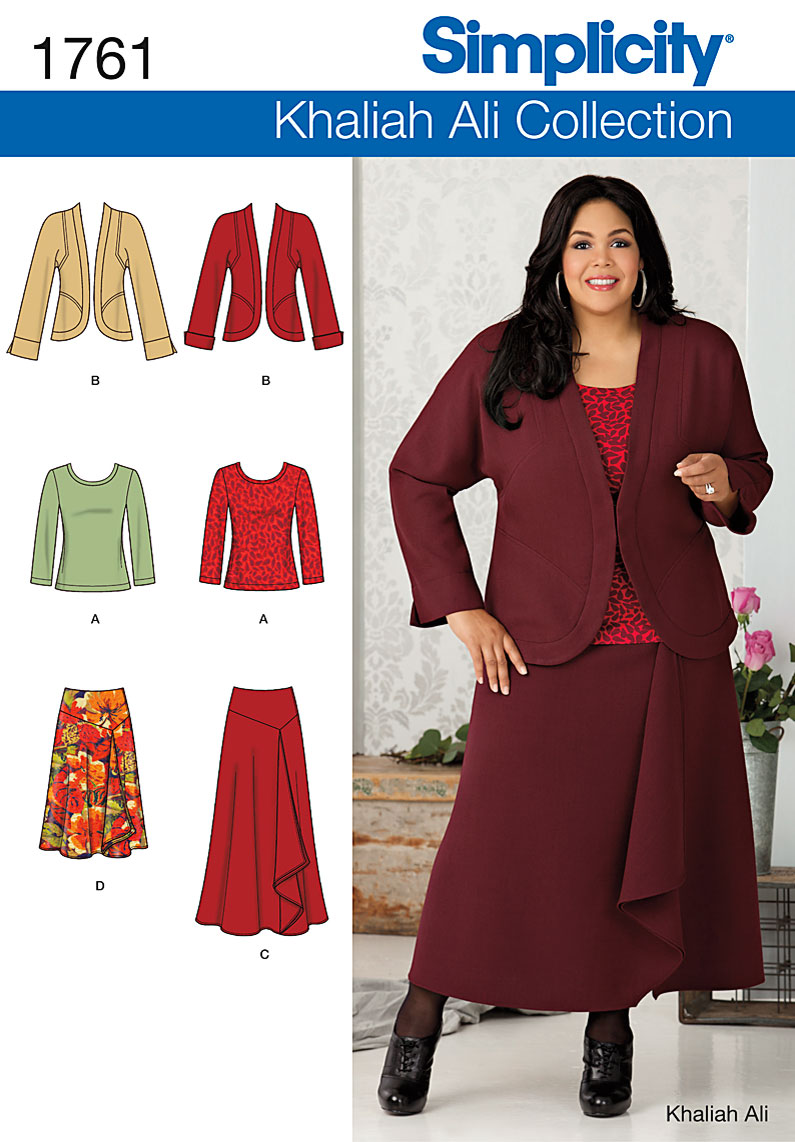 Simplicity Misses' & Plus Size Separates 1761