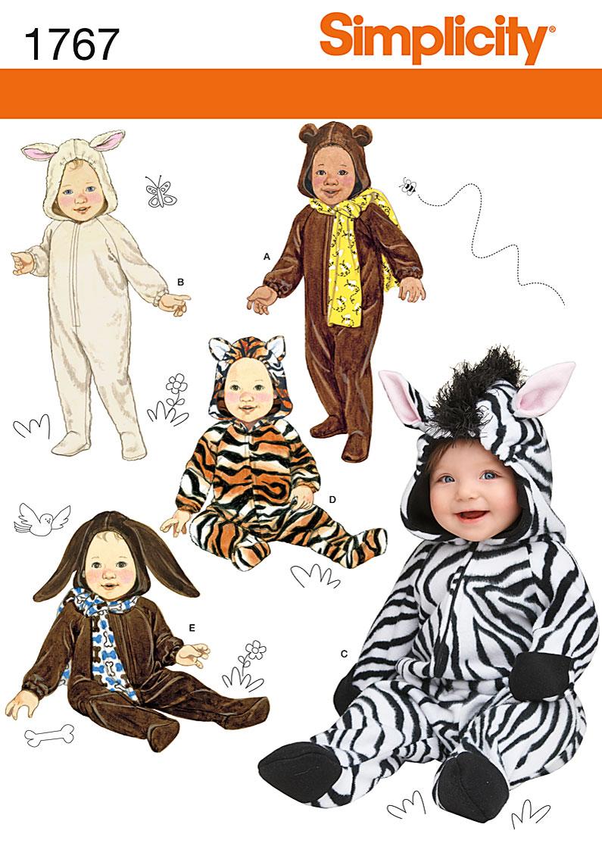 Simplicity Babies' Costumes 1767