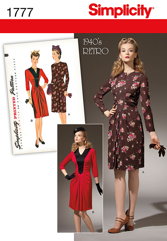 Simplicity Misses Dress 1777