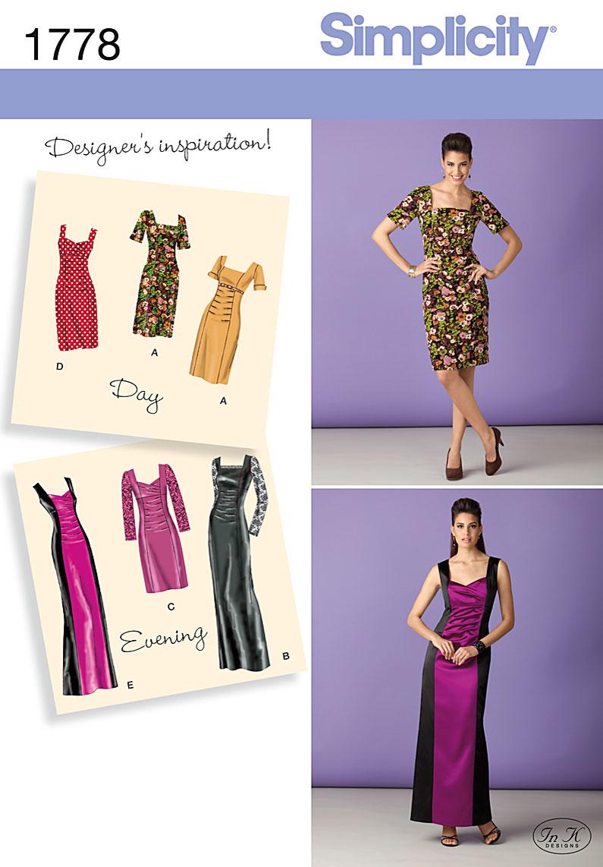 Simplicity Misses Dress 1778