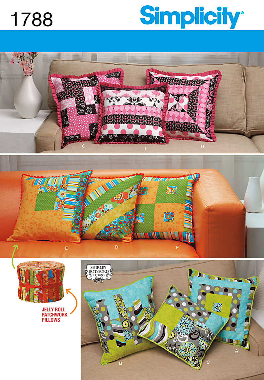 Simplicity Pillows 1788