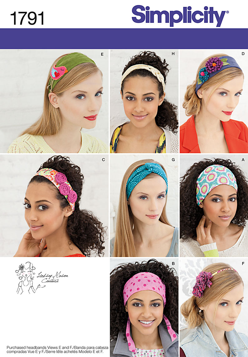 Simplicity Hair Accessories 1791