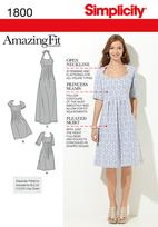 Simplicity 1800 Pattern ( Size 20W-28W )