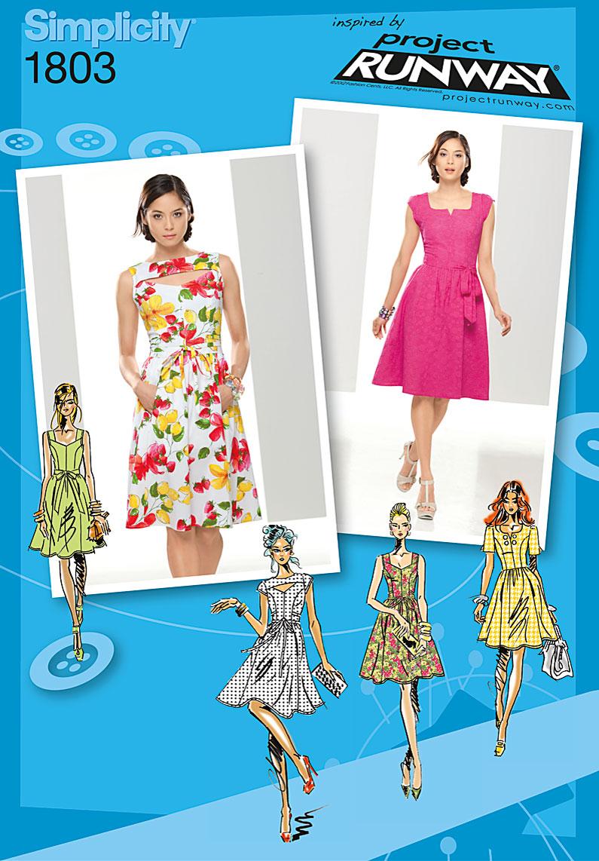 Simplicity 1803- Misses Dress