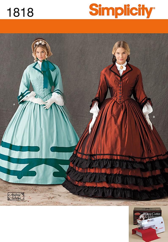 Simplicity Misses' Costume 1818