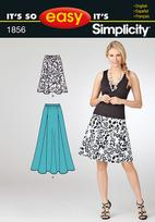 Simplicity 1856 Pattern ( Size 10-12-14-16-18-20 )