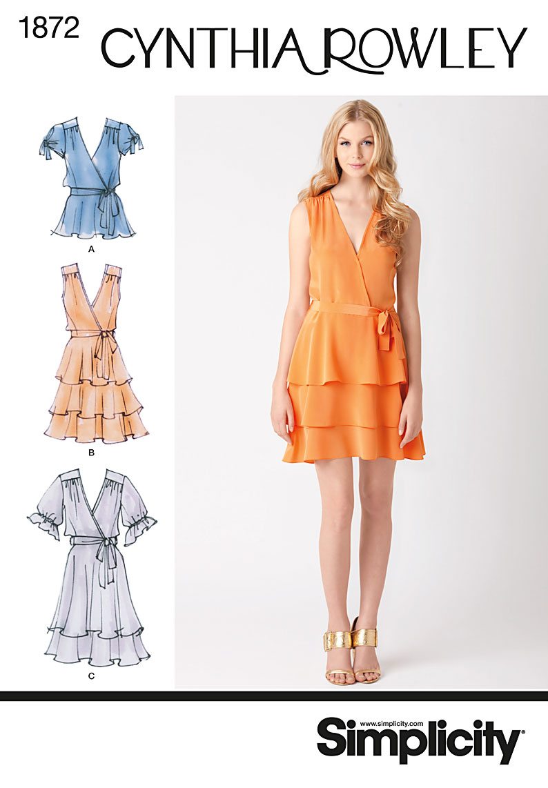 Simplicity 1872 Misses' Dresses sewing pattern