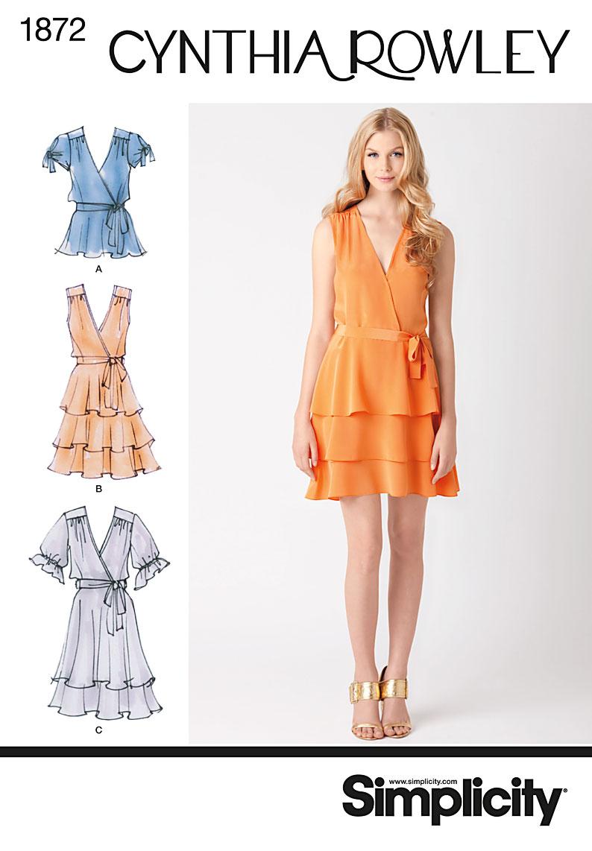 Simplicity Misses' Dresses 1872