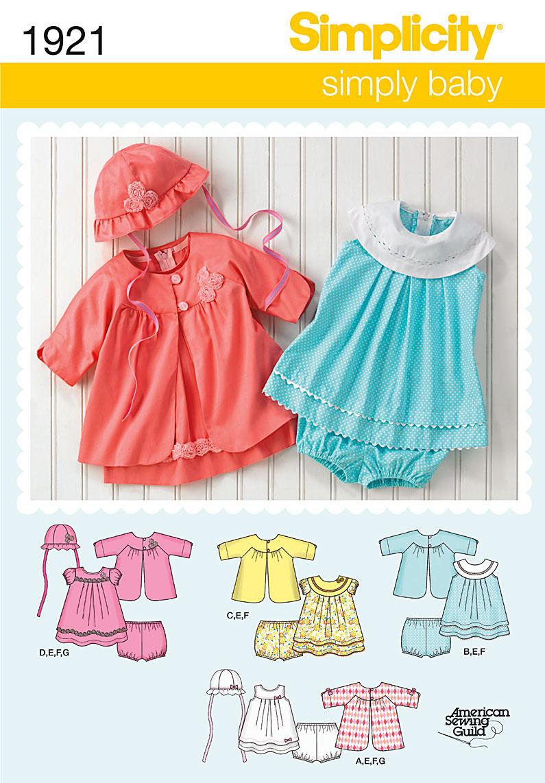 Simplicity Babies' Dress & Separates 1921