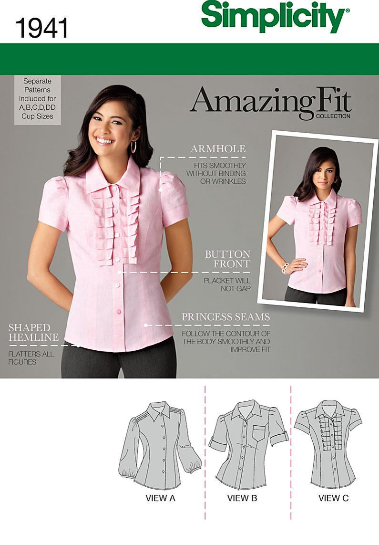Simplicity Misses blouse 1941