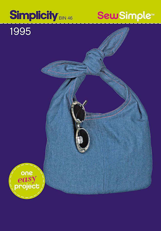 Simplicity Sew Simple tote bag 1995