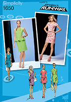 Simplicity 1650 Pattern ( Size 14-16-18-20-22 )