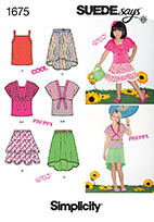 Simplicity 1675 Pattern ( Size 7-8-10-12-14 )