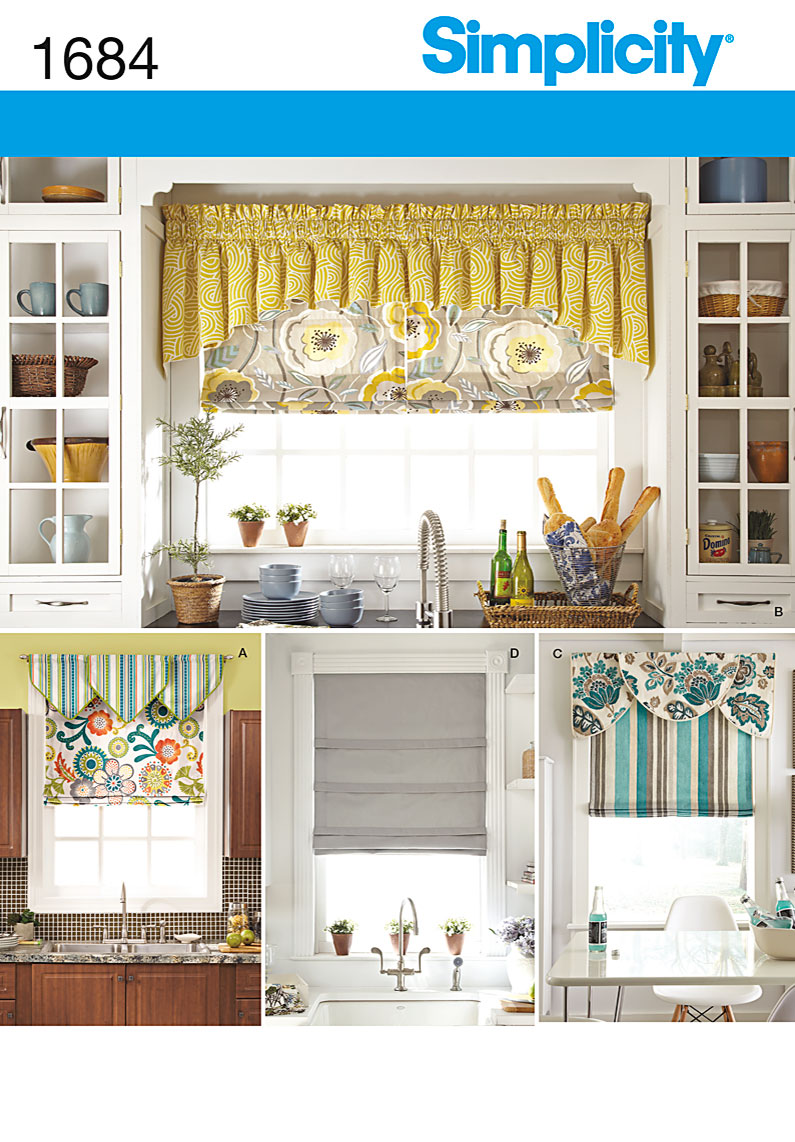 Simplicity Roman Shades and Valances 1684