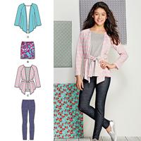 Simplicity 1025 Pattern ( Size 8-10-12-14-16 )