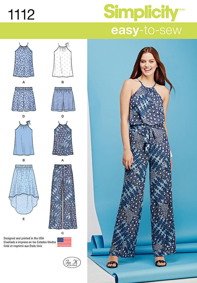 Simplicity maxi skirt pattern