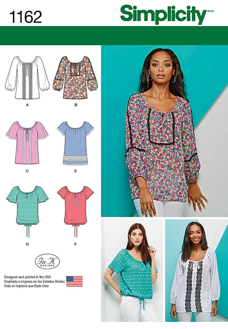 Simplicity Blouse Patterns For Womens 65