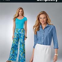 Simplicity 1186 Pattern ( Size 8-10-12-14-16-18 )