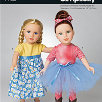 Simplicity 1192 Pattern ( Size ONE )